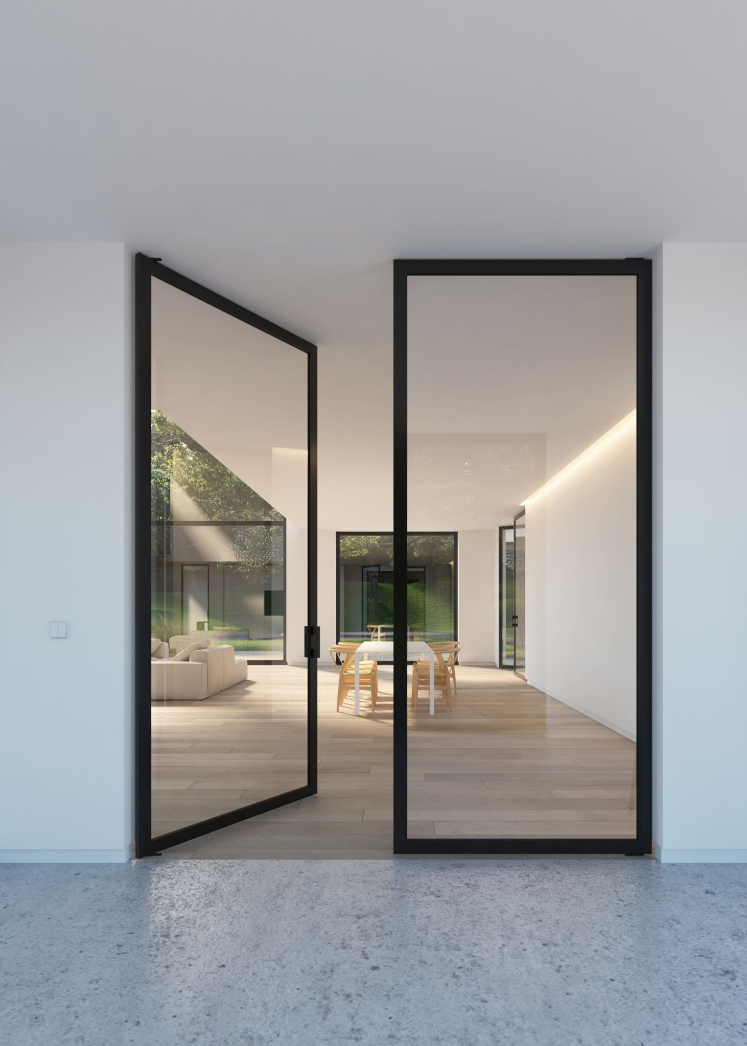 Non-Metal Door