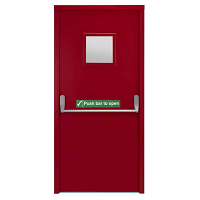 Fire-rated-door